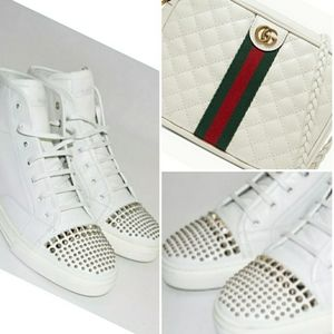 GUCCI 😱 California STUDDED 🌺Sneakers